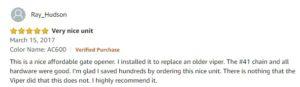 BestEquip Amazon user review