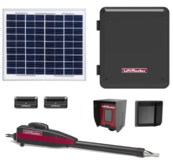 Liftmaster LA412PKGU solar gate opener kit