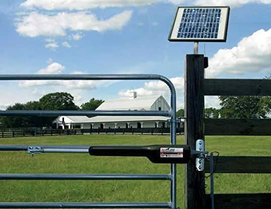 Mighty Mule EZGO solar gate opener