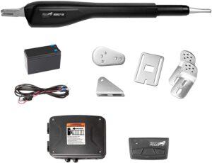 Mighty Mule MM571W Heavy Duty Smart Gate Opener, Single, Black