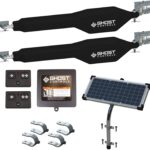 Ghost Controls TDS2XP Heavy-Duty Solar Dual Automatic Gate Opener