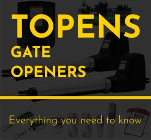 TOPENS GATE OPENERS cover